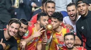 LEspérance de Tunis, sacrée championne dAfrique. AFP