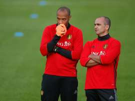 Henry is currently assistant boss to Martinez for the Belgium national team. AFP