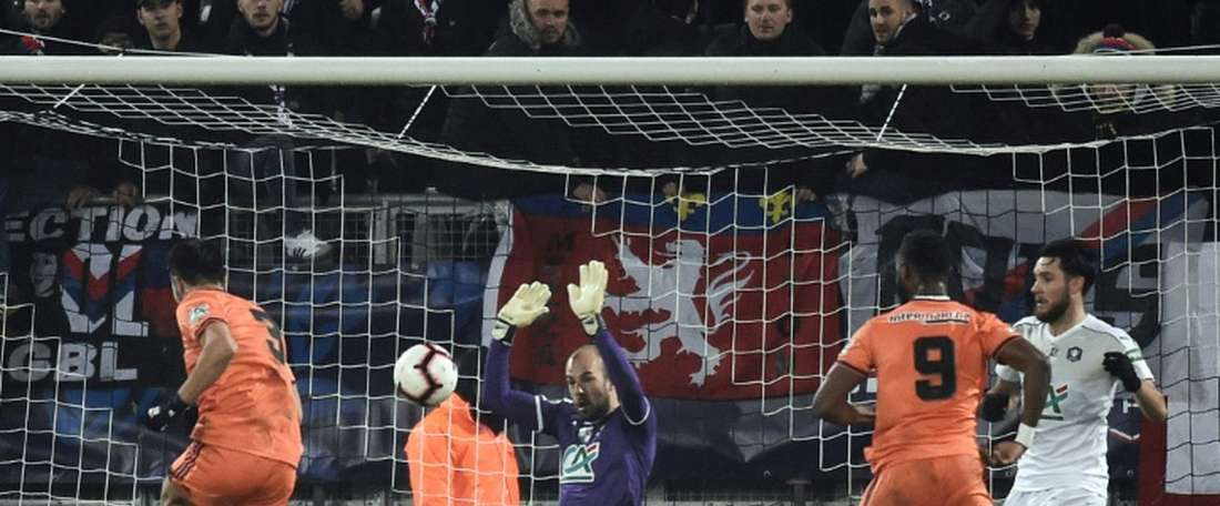 Dubois acredita na vitória frente ao BArcelona. AFP