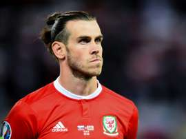 Bale was back. AFP