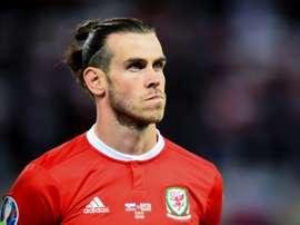 Gareth Bale titulaire contre l'Azerbaïdjan. AFP