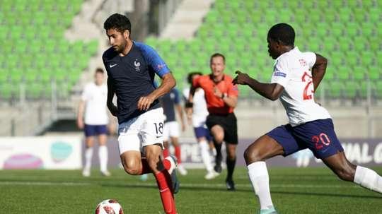 Alioui a été prêté au Cercle Bruges. AFP