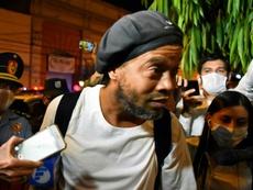 Ronaldinho retenu au Paraguay depuis bientôt 70 jours. AFP