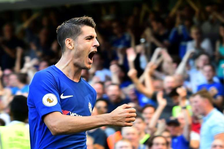 Morata has started the season in great form. AFP