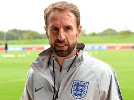 Southgate will watch Derby rather than Liverpool. AFP