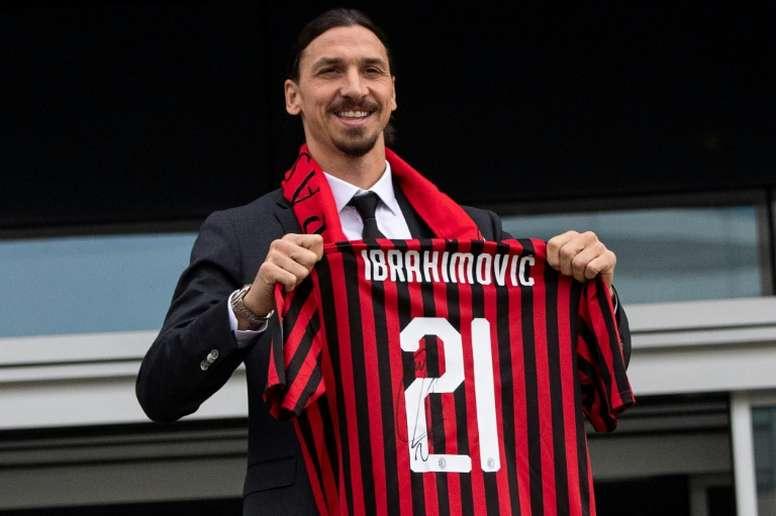 El Monza insiste en llevarse a Ibrahimovic a la Serie C. AFP