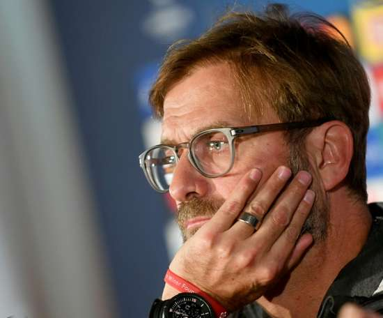 Klopp gave his opinion on the Christmas schedule. AFP