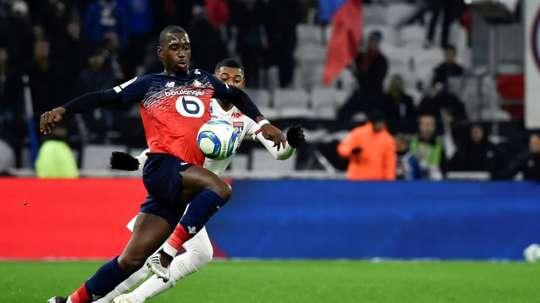 Lille a reçu une offre de 30 millions d'euros pour Soumaré. AFP