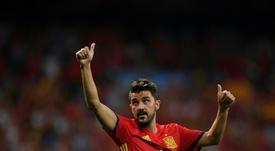 En el Barça y en la Selección Española alcanzó el cénit de su carrera. AFP