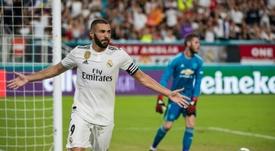 Benzema sigue batiendo récords. AFP