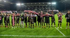 La afición del St. Pauli es soberana. AFP/Archivo
