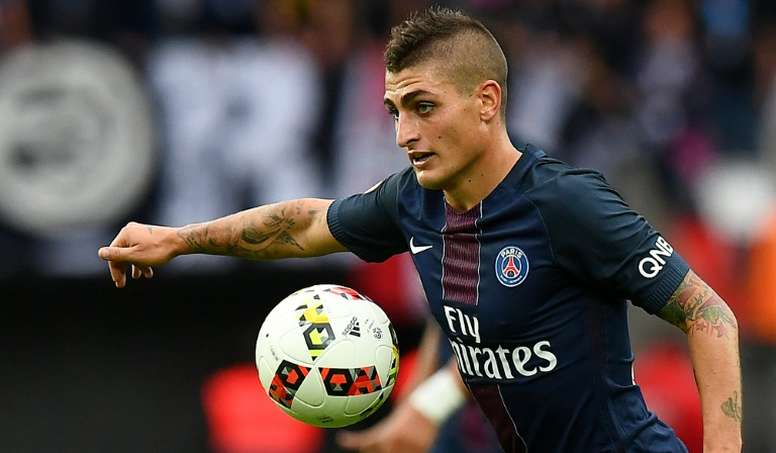Verratti had been linked with a move away from PSG. AFP