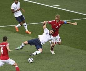 Après son grand Mondial, Kjaer veut triompher avec Séville. AFP