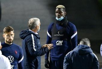 El francés regresa a su pesadilla en el United. AFP