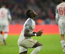 Sadio Mané n'en laisse pas passer une. AFP