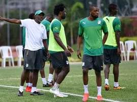 Ibrahim Kamara nouveau sélectionneur de la Côte d'Ivoire. AFP