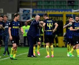El Inter de Milán deja marchar cedido a Donkor. AFP