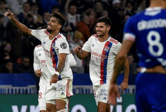 Lyon confirme sa dynamique contre Troyes. AFP