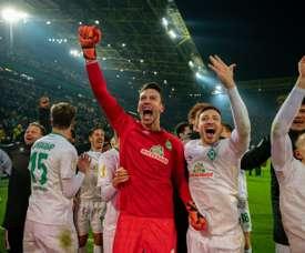 Brême gagne. AFP