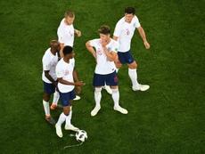 L'Angleterre va devoir battre la Colombie en huitième de finale. AFP