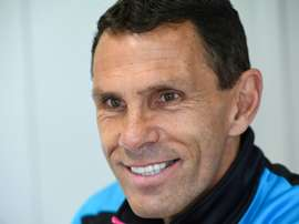 Poyet has been suspended by the French side over the incident. AFP
