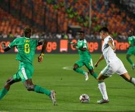 Bounedjah, le réveil magique de la machine à buts algérienne. AFP