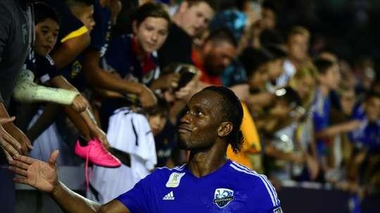 Drogba defenderá los colores del Phoenix Rising. AFP