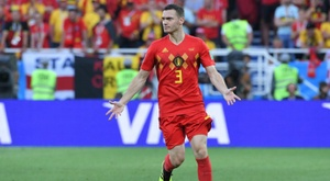 Vermaelen out with a leg injury. AFP