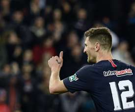 Meunier does not want to leave PSG this January. AFP