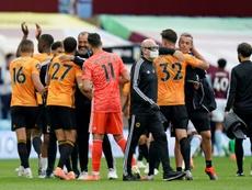 Wolverhampton continue à rêver de Ligue des champions. AFP