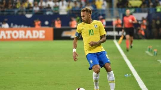 L'attaquant du Brésil Neymar. AFP