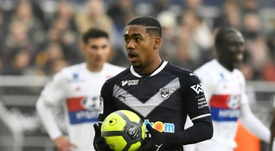 Malcom has been at Bordeaux for 2 years. AFP