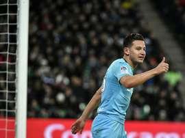Les bleus de Marseille. AFP
