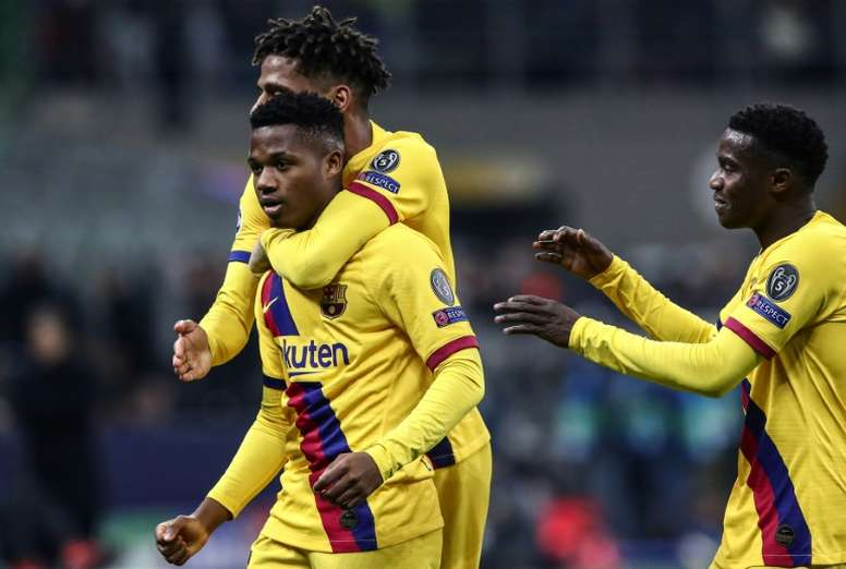 Jusqu'à huit joueurs du Barça dans le viseur du Betis ? AFP