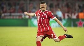 Ribery, encore à Munich la saison prochaine. AFP