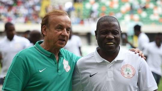 Salisu Yusuf iba a llevar las riendas de Nigeria en los JJOO Tokio 2020. AFP