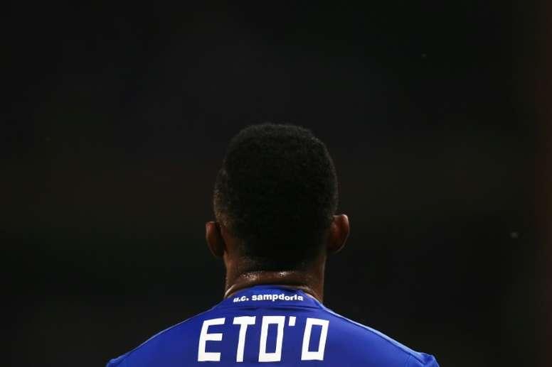 Samuel Eto'o dio la victoria al Antalyaspor. AFP/Archivo