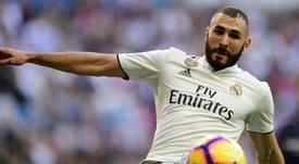 Benzema no estuvo bien en Huesca. AFP