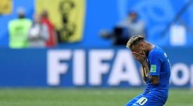 Neymar participe à une levée de fonds pour les favelas. AFP