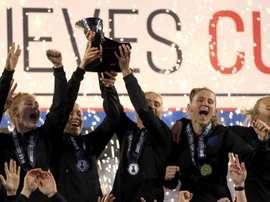 L'Angleterre a réalisé une performance excellente. AFP