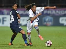 D'Alex Morgan à Cristiane, les duels à suivre lors de la finale de la C1 féminine. AFP