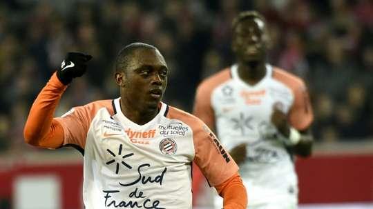 Jérôme Roussillon buteur contre Lille. AFP
