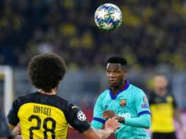 Ansu Fati is being sought after by Borussia Dortmund, AFP