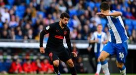 Diego Costa voltou a LaLiga quase quatro meses depois. AFP