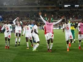 Victoire pour le Sénégal. AFP