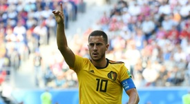Hazard impressed with Belgium. AFP