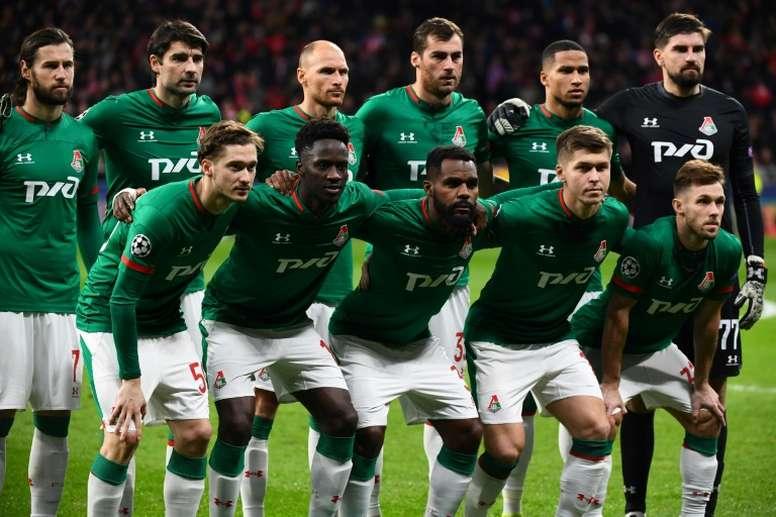 El Lokomotiv no conoce la derrota. AFP