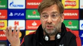 Klopp ataca a final da Liga Europa no Azerbaijão. AFP