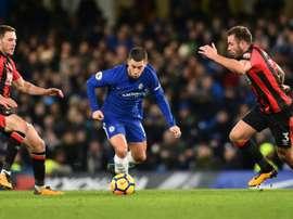 El futuro de Conte en el Chelsea se sigue difuminando. AFP