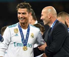 Kaká imagine le grand défi de Zidane. AFP